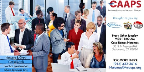 Natomas Business Networking (Tuesdays) tickets