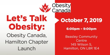 Let's Talk Obesity - Obesity Canada, Hamilton Chapter Launch tickets