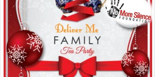Family Holiday Tea Party