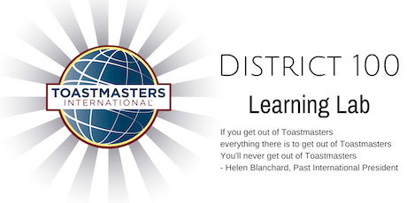 District 100 Learning Lab October 2019 tickets