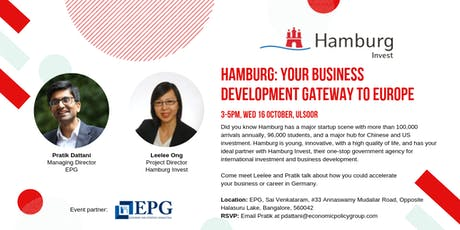 Hamburg: Your business development gateway to Europe tickets