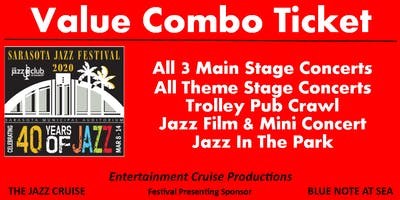 VALUE COMBO TICKET - 2020 Sarasota Jazz Festival