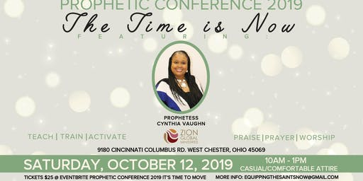 Prophetic Conference 2019 IT'S TIME TO MOVE