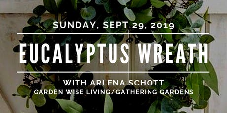 "Crafty Sunday ""Country Eucalyptus Wreath with Arlena"" tickets"