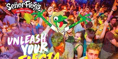 Party Packages: Senor Frog's Pregame Openbar Miami tickets