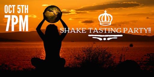 Shake tasting party