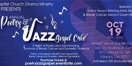 Poetry & Jazz Gospel Cafe' tickets
