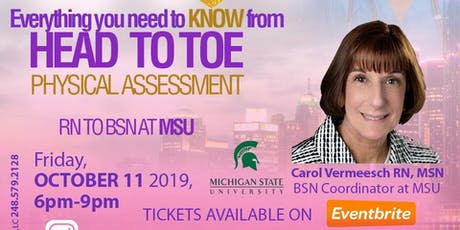 Everything You Need to Know | From Head to Toe Physical Assessment  tickets