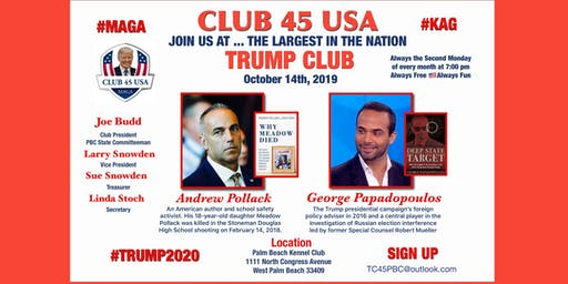 Trump Club 45 USA October Meeting