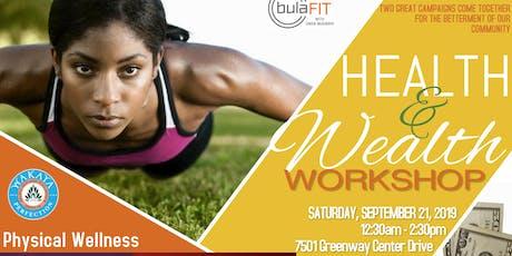 WEALTH & HEALTH Workshop tickets