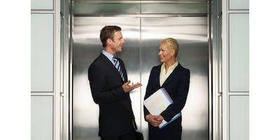 TALLER    ELEVATOR  PITCH / Comunicación efectiva  en 1 y 2 minutos/26 SEPT