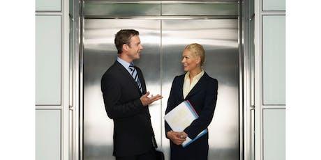 TALLERELEVATOR  PITCH / Comunicación efectiva  en 1 y 2 minutos/26 SEPT entradas