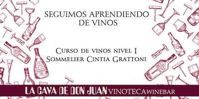 Curso de Vinos - Nivel 1