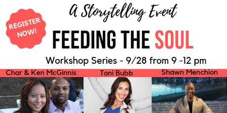 Feeding The Soul - WorkShop Series tickets