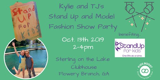 Stand Up and Model Fashion Show Party