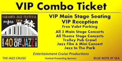 VIP COMBO TICKET - 2020 Sarasota Jazz Festival