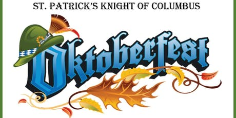 St. Patrick's Knights of Columbus Oktoberfest 2019 tickets