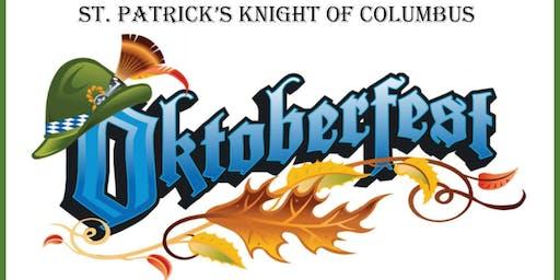 St. Patrick's Knights of Columbus Oktoberfest 2019