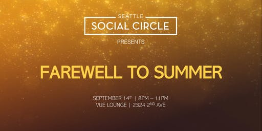 "SSC presents ""Farewell to Summer"" Mixer"