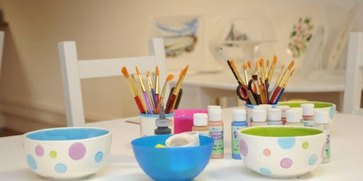 Ceramic painting in Oakville
