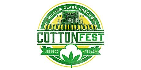 William Clark Green's Cotton Fest 2020 tickets