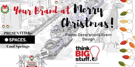 YOUR BRAND™ at Merry Christmas Workshop. Hosted by Think Big Stuff® tickets