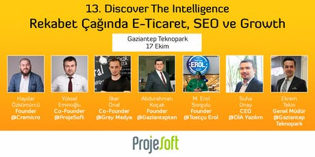 13. Discover The Intelligence - Gaziantep tickets