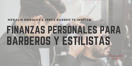 Finanzas Personales para Barberos y Estilistas tickets