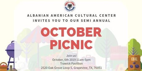 October Semi-Annual Community Picnic tickets