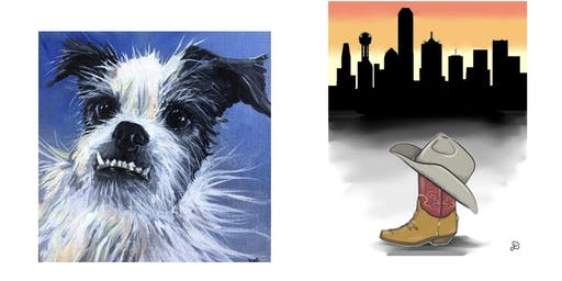 Paint Your Pet + Skyline Paint Party