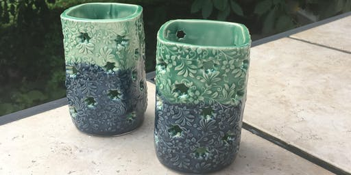 Hand Build Ceramic Luminaries