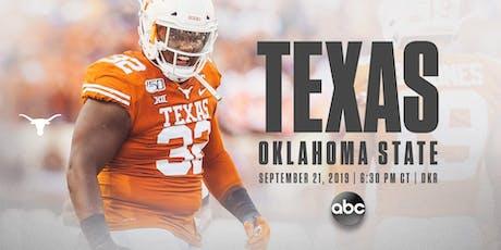 Texas vs. Oklahoma State Game Watch entradas