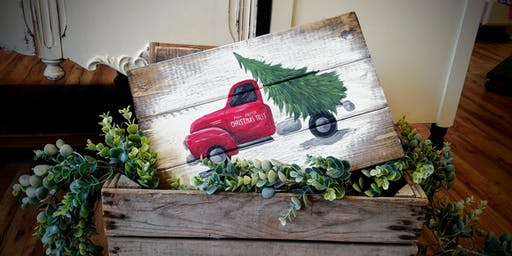 SOLD OUT - Vintage Christmas Truck Paint Night