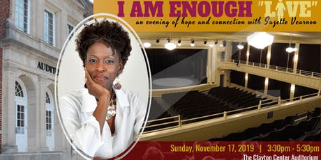 I Am Enough LIVE tickets
