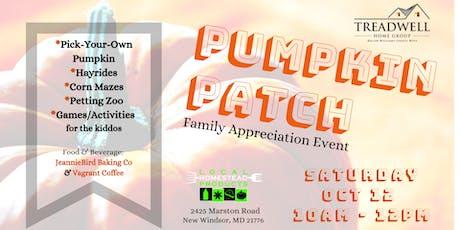 Pumpkin Patch Client Appreciation Event tickets