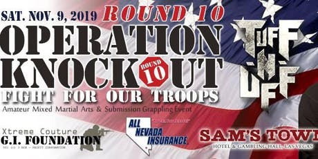 TUFF-N-U FF Operation Knockout Fight For Our Troops tickets