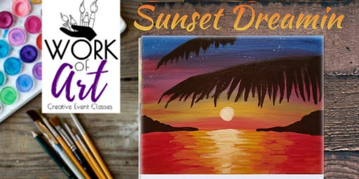 Paint night with Shawna: Sunset Dreamin
