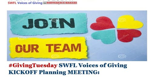 #GT SWFL Voices of Giving - the #Differencemakers Leader Planning