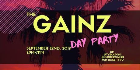 GAINZ SUMMER ENDING PARTY tickets