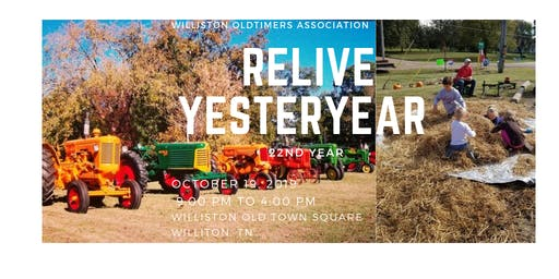 22nd Year of The Relive Yesteryear Festival