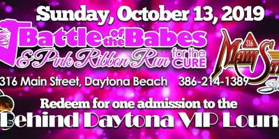 Behind Daytona Battle of the Babes VIP Lounge