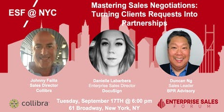 Mastering Sales Negotiations: Turning Clients Requests Into Partnerships tickets