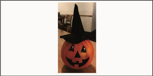 Witchy Pumpkin Gourd