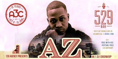 A3C: AZ w/ DJ Doowop, The Artifacts, 38 Spesh at 529 tickets