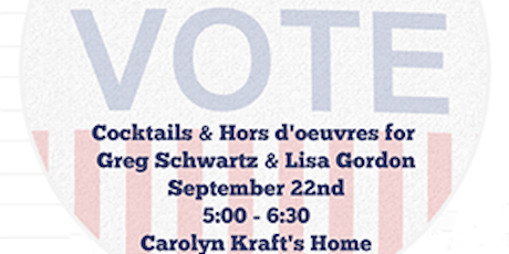 Cocktails & Hors d'oeuvres for Lisa Gordon & Greg Schwartz tickets