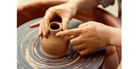 "Introduction to The Potter's Wheel																   A "" One Time Class "" (04-13-2020 starts at 9:30 AM) tickets"