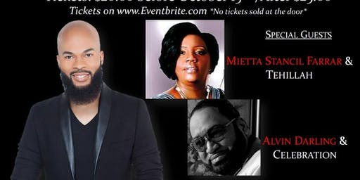 Thanksgiving, Praise & Worship Concert  Featuring JJ Hairston & Guests