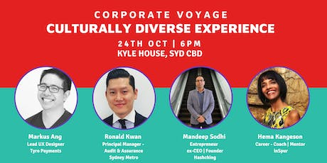 Corporate Voyage - Culturally Diverse Experience tickets