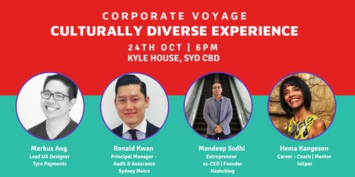 Corporate Voyage - Culturally Diverse Experience