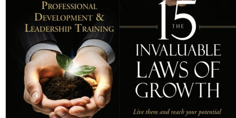 The 15 Invaluable Laws of Growth - Mastermind Group tickets